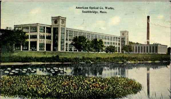 Southbridge, Worcester, Massachusetts, USA - American Optical Co. Works, Southbridge, Mass. - 1909