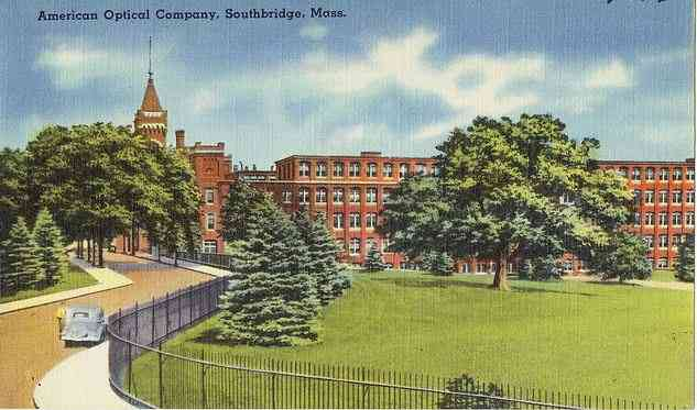 Southbridge, Worcester, Massachusetts, USA - American Optical Company, Southbridge, Mass.