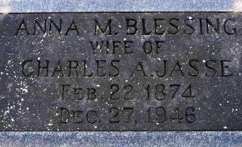 Anna Caroline Margaret Blessing - Grave