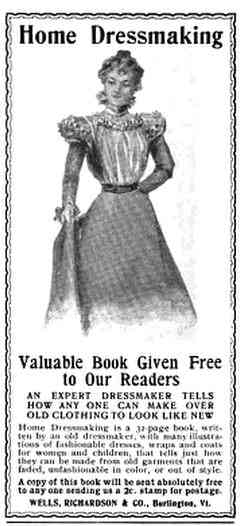 Burlington, Vermont, USA - Home Dressmaking