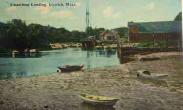 Ipswich, Massachusetts, USA - Steamboat Landing, Ipswich, Mass.