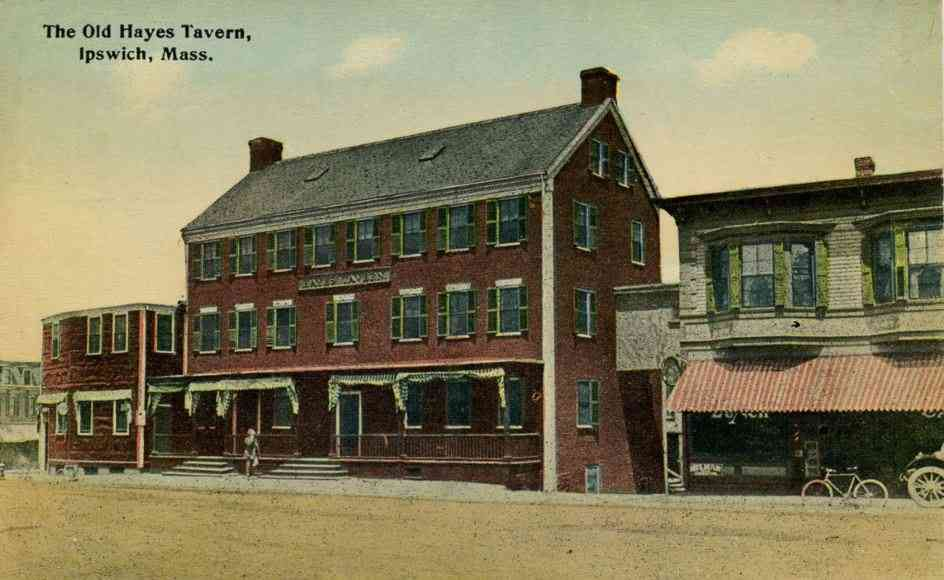 Ipswich, Massachusetts, USA - The Old Hayes Tavern, Ipswich, Mass.