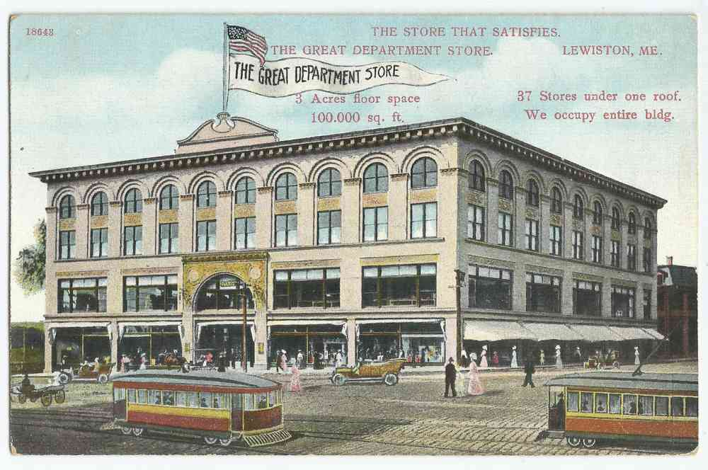 Lewiston, Maine, USA - The Great Department Store
