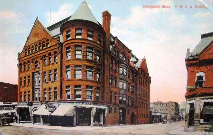 Springfield, Massachusetts, USA (Indian Orchard) - Y.M.C.A. Building