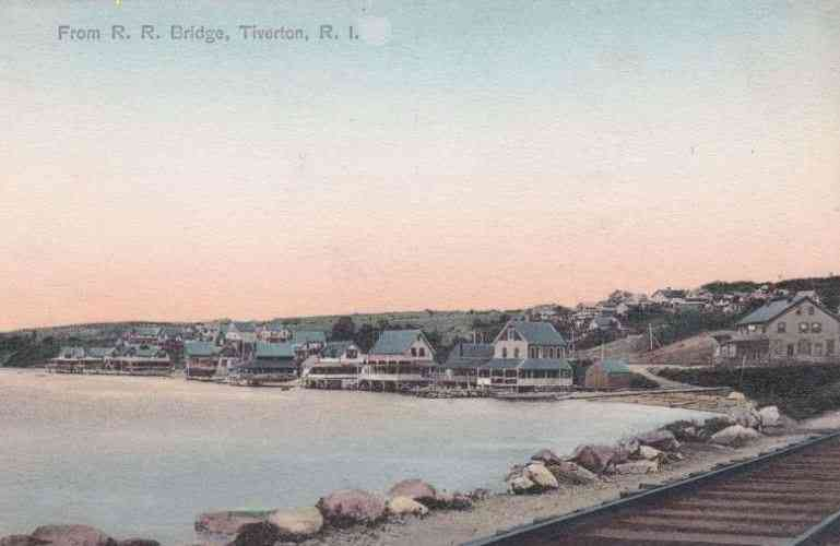 Tiverton, Newport, Rhode Island, USA - From R. R. Bridge, Tiverton, R. I.
