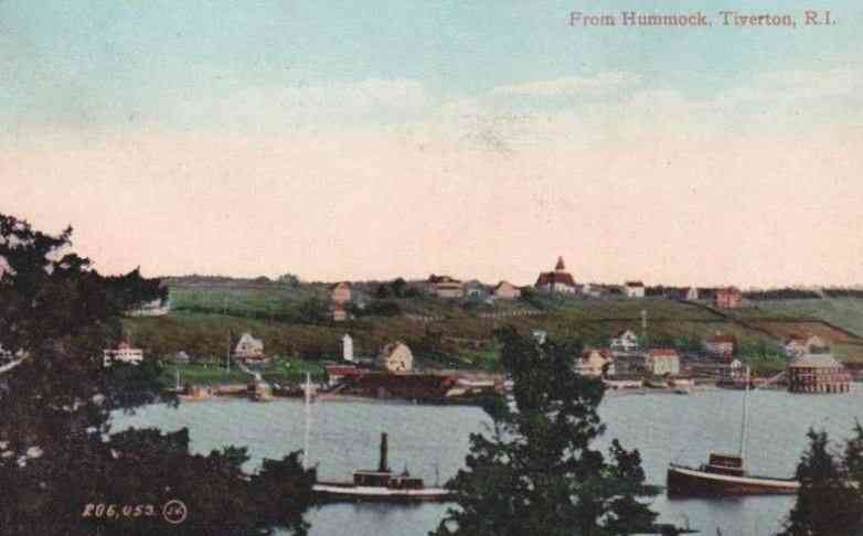 Tiverton, Newport, Rhode Island, USA - From Hummock, Tiverton, R. I.